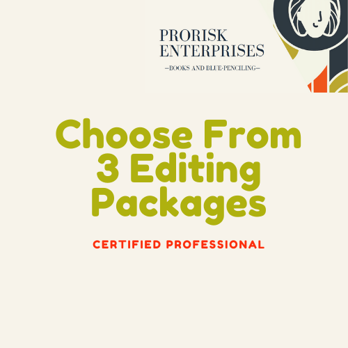 Copy Editing & Critique Packages