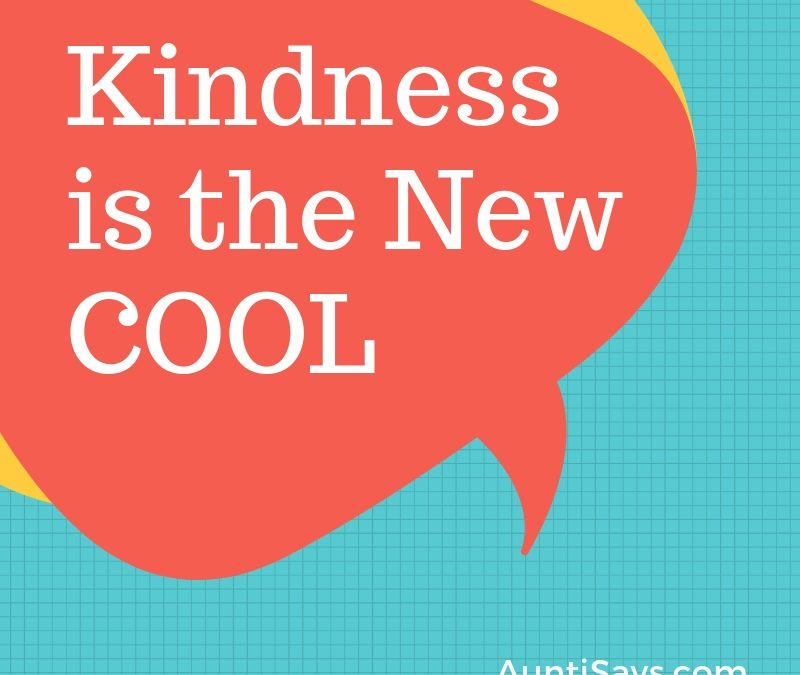 Kindness the new cool